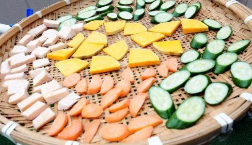 初心者でも簡単!干し野菜は室内でもできる?作り方とコツや食べ方も!