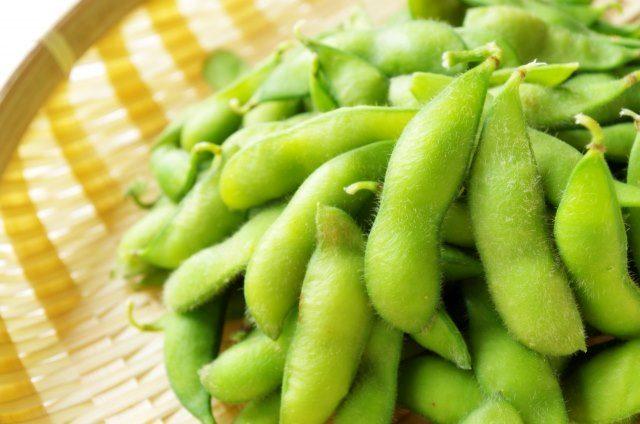 枝豆。葉酸を含む野菜の食べ方を紹介します。